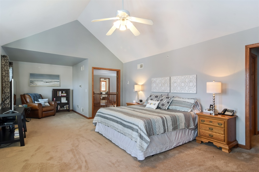 Real Estate Photography - 6217 Pine Cone Ct, Long Grove, IL, 60047 - Master Bedroom