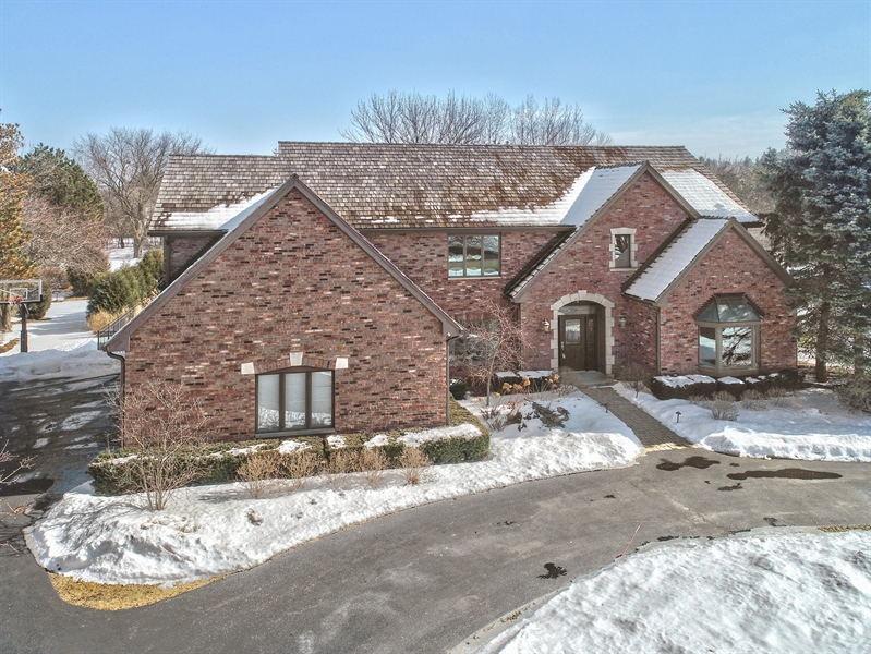 Real Estate Photography - 6217 Pine Cone Ct, Long Grove, IL, 60047 - Aerial View