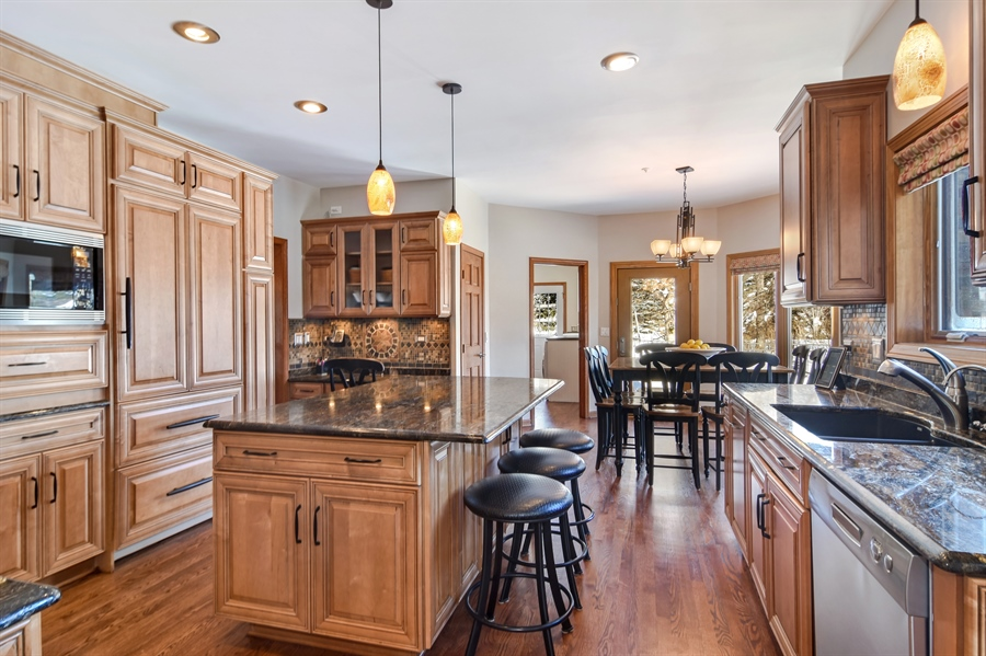 Real Estate Photography - 6217 Pine Cone Ct, Long Grove, IL, 60047 - Kitchen / Breakfast Room
