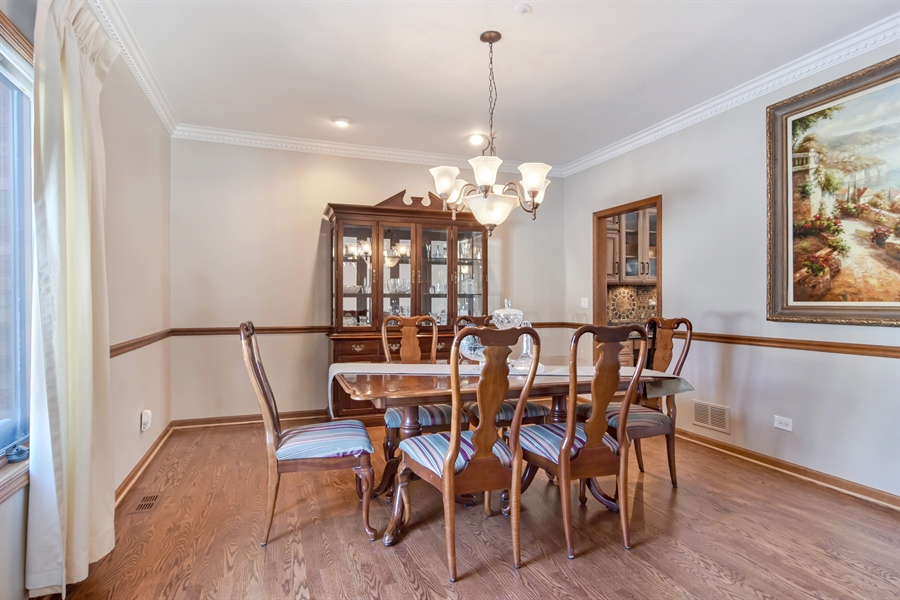 Real Estate Photography - 6217 Pine Cone Ct, Long Grove, IL, 60047 - Dining Room