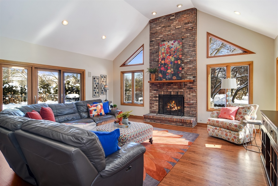 Real Estate Photography - 6217 Pine Cone Ct, Long Grove, IL, 60047 - Family Room