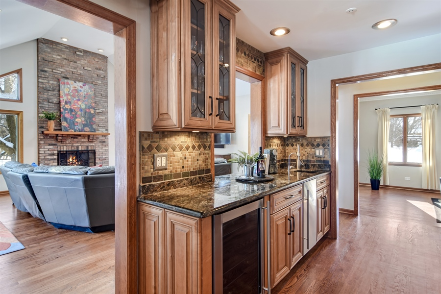 Real Estate Photography - 6217 Pine Cone Ct, Long Grove, IL, 60047 - Family Room / Kitchen