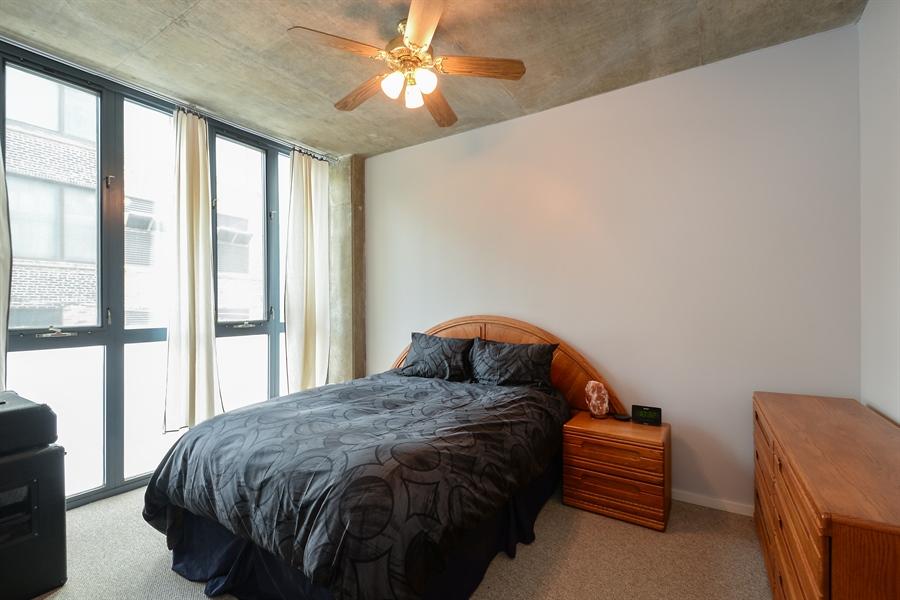 Real Estate Photography - 321 S Sangamon, 407, Chicago, IL, 60607 - Bedroom