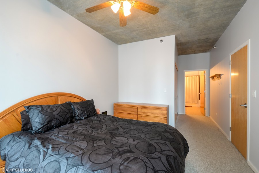 Real Estate Photography - 321 S Sangamon, 407, Chicago, IL, 60607 -
