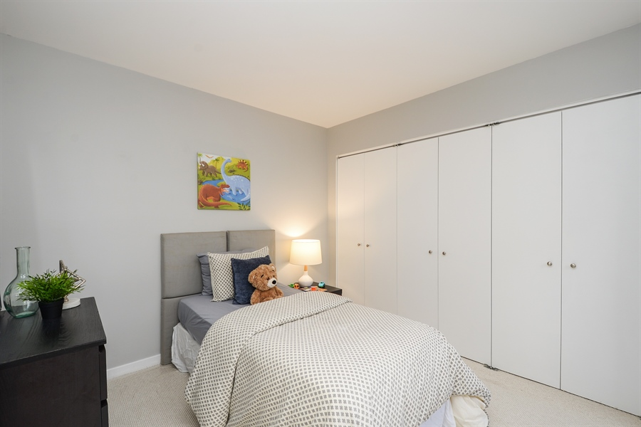 Real Estate Photography - 931 W Wrightwood Ave, Unit C, Chicago, IL, 60614 - Bedroom
