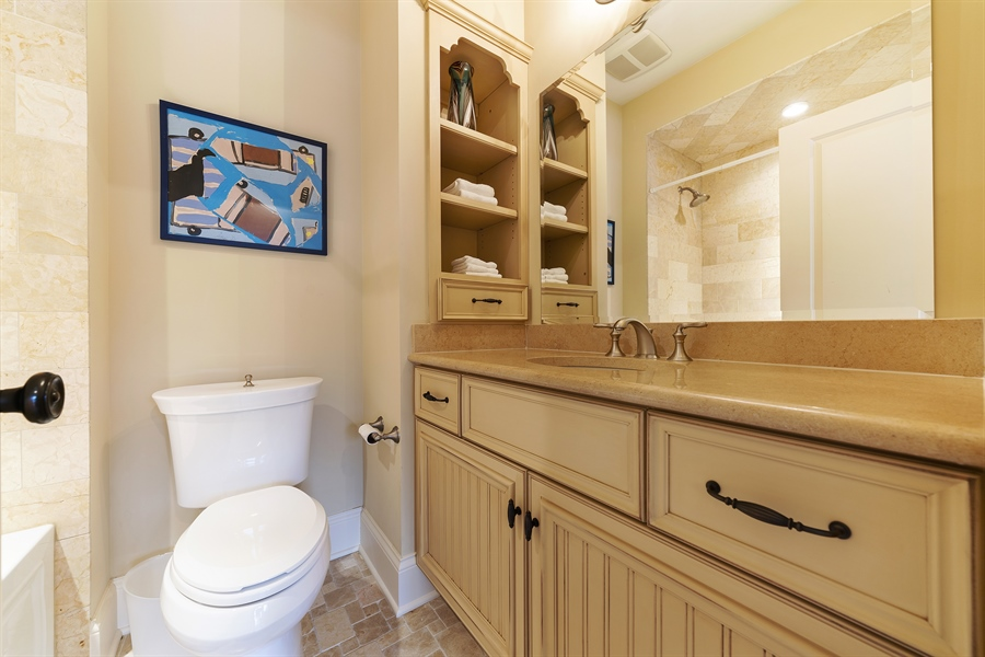 Real Estate Photography - 415 S. Adams St., Hinsdale, IL, 60521 - 4th Bathroom