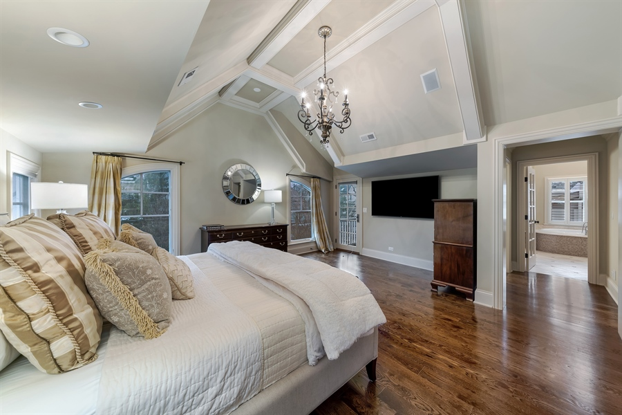 Real Estate Photography - 415 S. Adams St., Hinsdale, IL, 60521 - Master Bedroom
