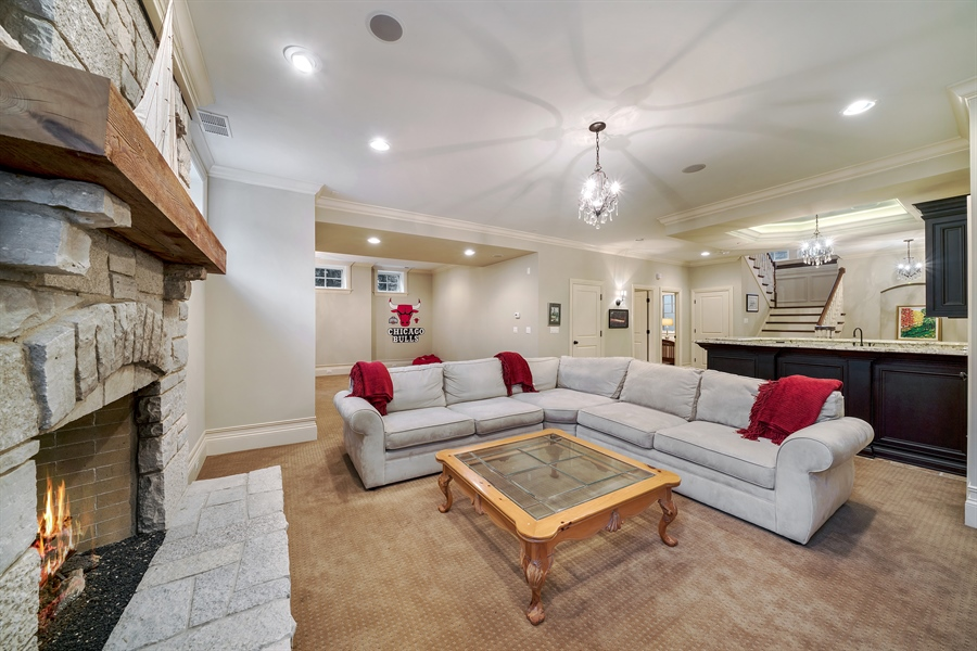 Real Estate Photography - 415 S. Adams St., Hinsdale, IL, 60521 - Lower Level