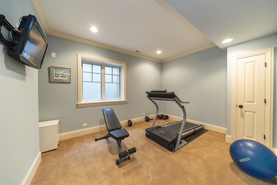 Real Estate Photography - 415 S. Adams St., Hinsdale, IL, 60521 - Exercise Room