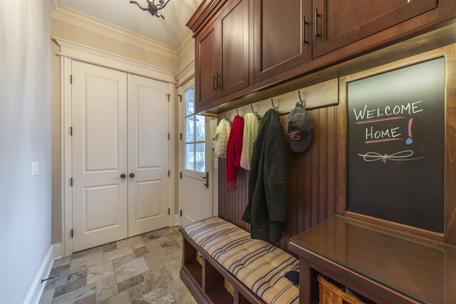 Real Estate Photography - 415 S. Adams St., Hinsdale, IL, 60521 - Mudroom