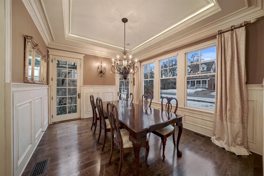Real Estate Photography - 415 S. Adams St., Hinsdale, IL, 60521 - Dining Room