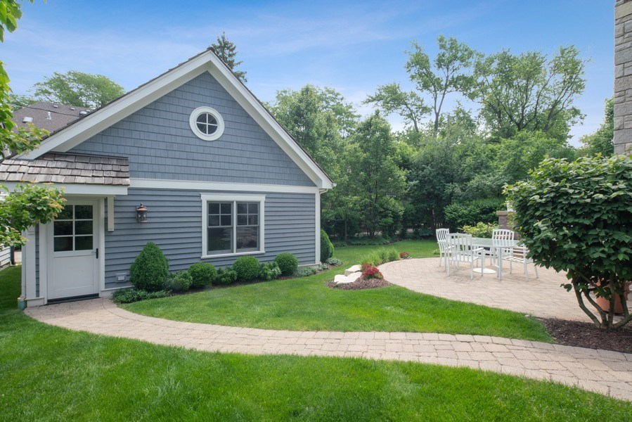 Real Estate Photography - 415 S. Adams St., Hinsdale, IL, 60521 - Back Yard