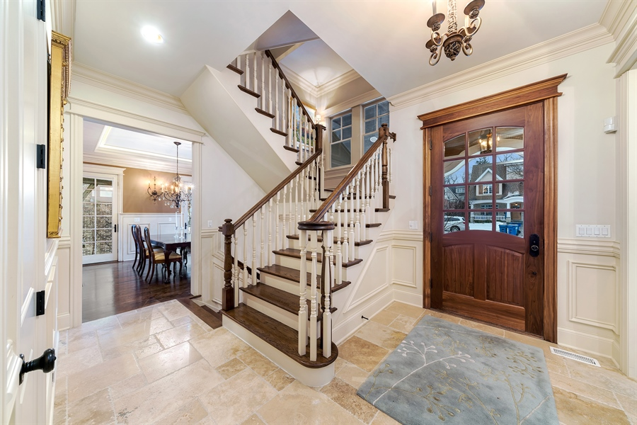 Real Estate Photography - 415 S. Adams St., Hinsdale, IL, 60521 - Foyer