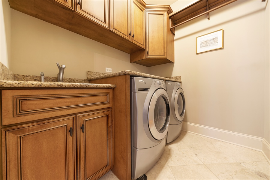 Real Estate Photography - 415 S. Adams St., Hinsdale, IL, 60521 - Laundry Room