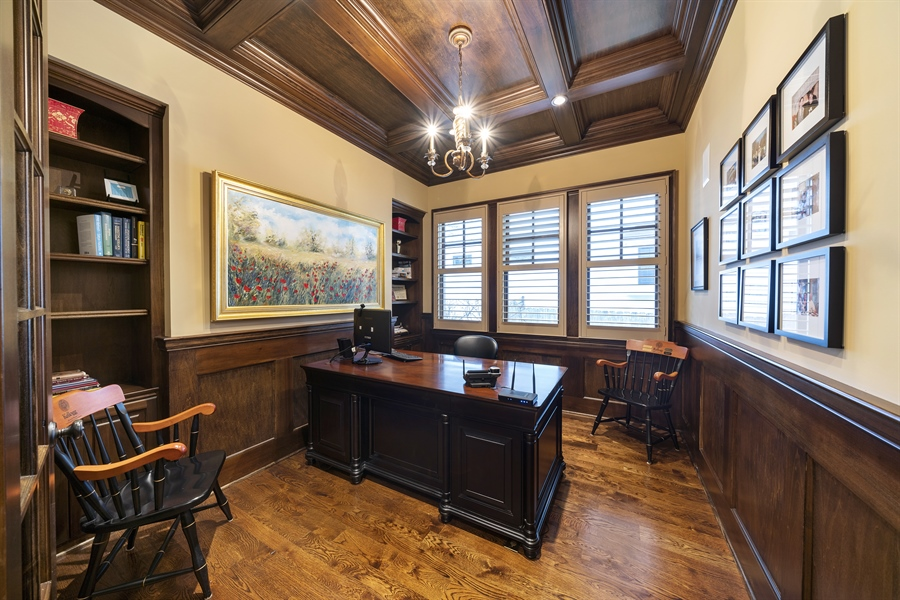 Real Estate Photography - 415 S. Adams St., Hinsdale, IL, 60521 - Office