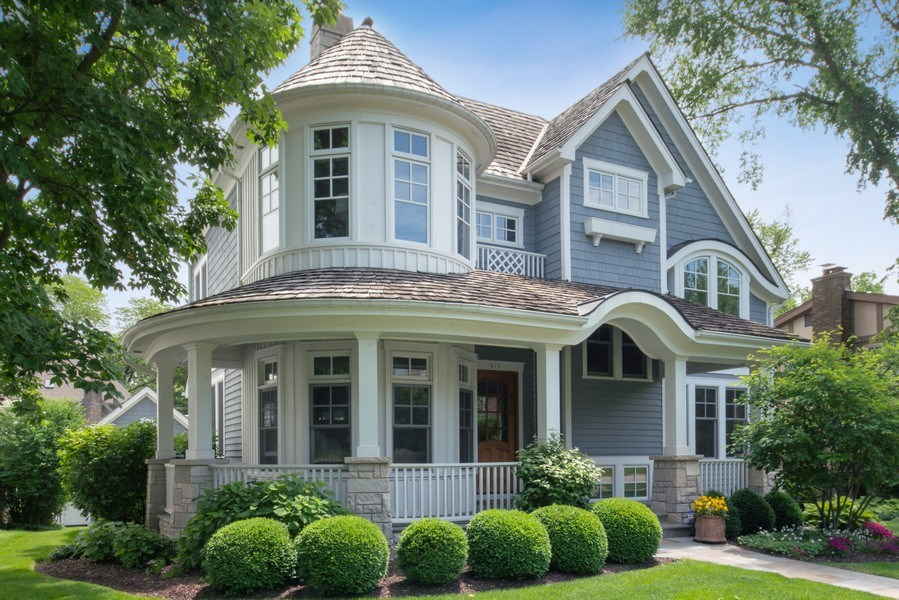 Real Estate Photography - 415 S. Adams St., Hinsdale, IL, 60521 - Front View