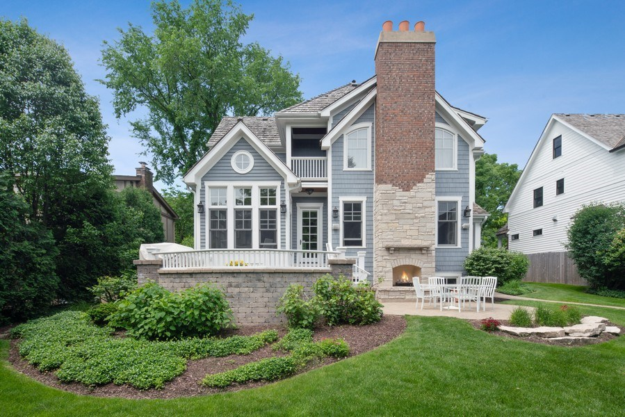 Real Estate Photography - 415 S. Adams St., Hinsdale, IL, 60521 - Rear View