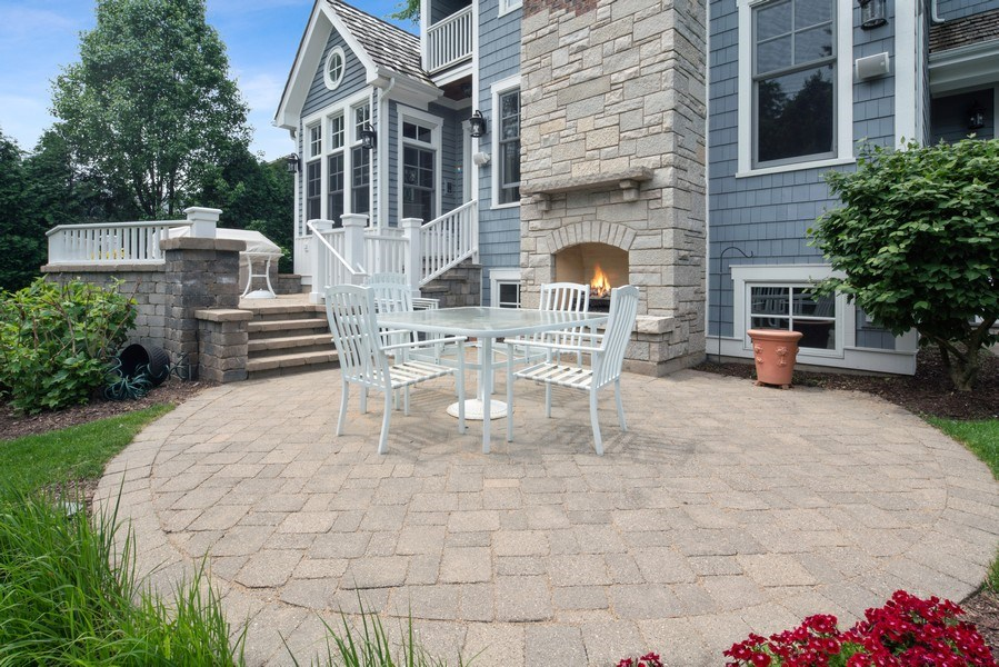 Real Estate Photography - 415 S. Adams St., Hinsdale, IL, 60521 - Patio