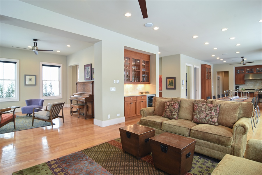 Real Estate Photography - 1 Anne Ct., Hawthorn Woods, IL, 60047 - Living Rm/Family Rm