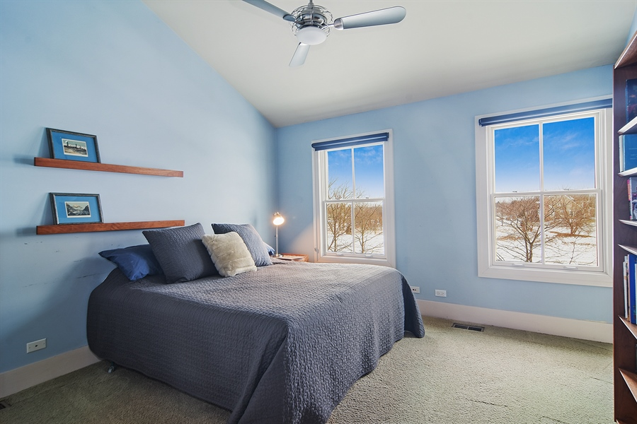 Real Estate Photography - 1 Anne Ct., Hawthorn Woods, IL, 60047 - 2nd Bedroom