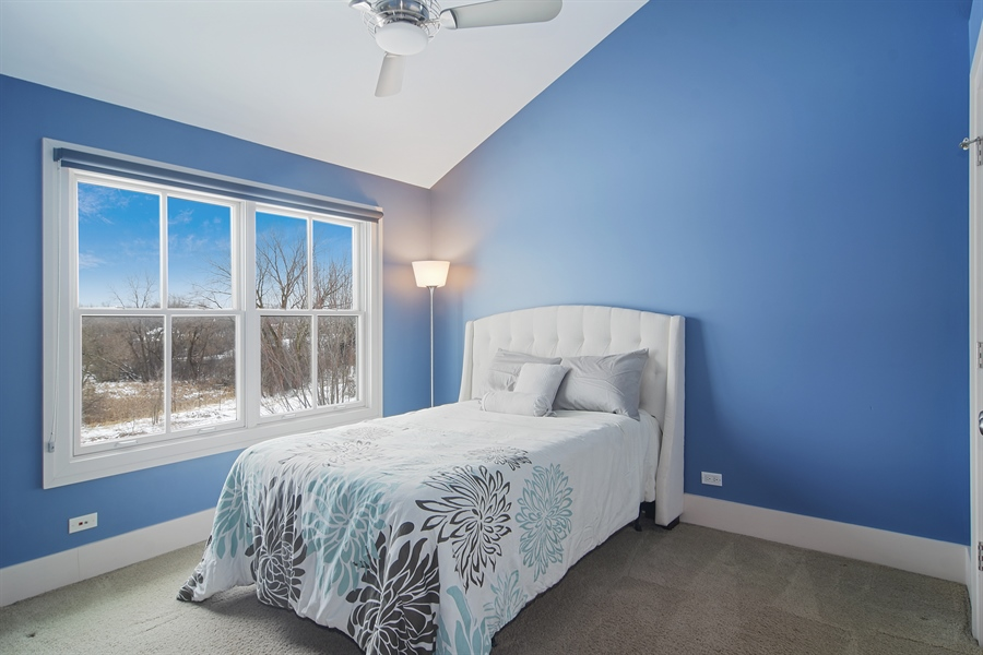 Real Estate Photography - 1 Anne Ct., Hawthorn Woods, IL, 60047 - 3rd Bedroom