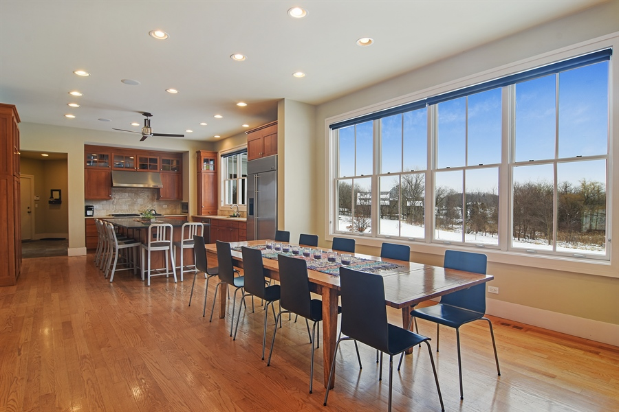 Real Estate Photography - 1 Anne Ct., Hawthorn Woods, IL, 60047 - Dining Room