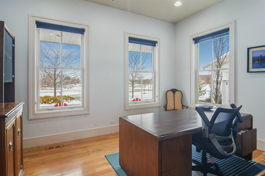 Real Estate Photography - 1 Anne Ct., Hawthorn Woods, IL, 60047 - Office