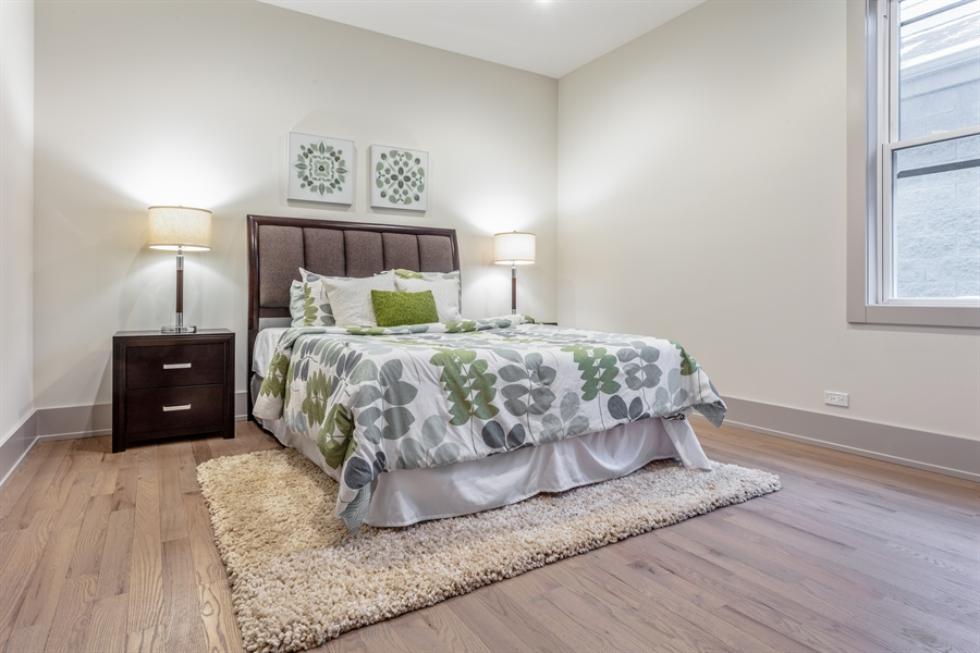 Real Estate Photography - 1213 E. 46th Street, 1, Chicago, IL, 60653 - Main Level | Bedroom 2