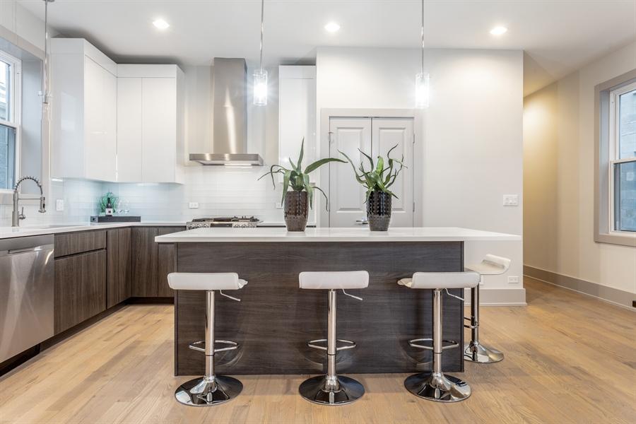 Real Estate Photography - 1213 E. 46th Street, 1, Chicago, IL, 60653 - Kitchen