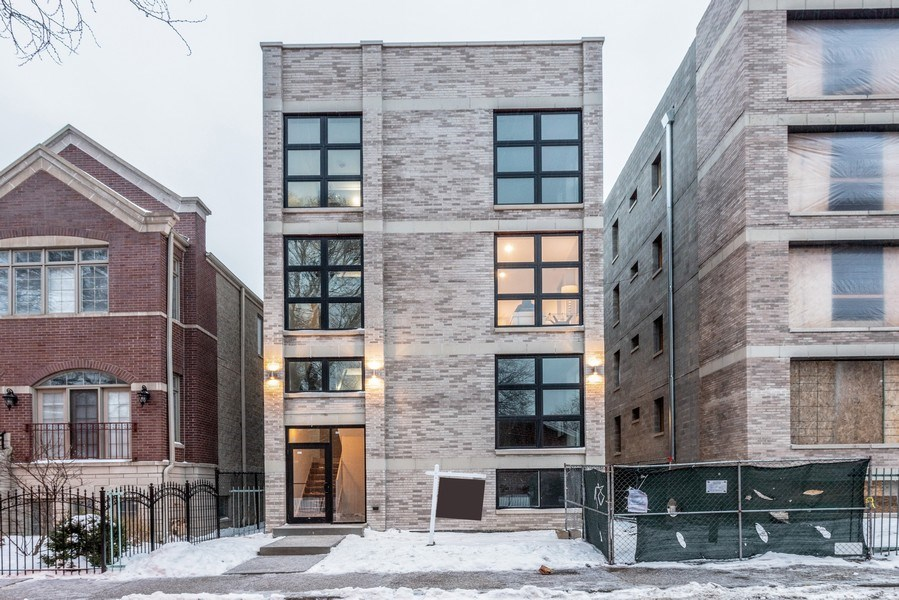 Real Estate Photography - 1213 E. 46th Street, 1, Chicago, IL, 60653 - Front View