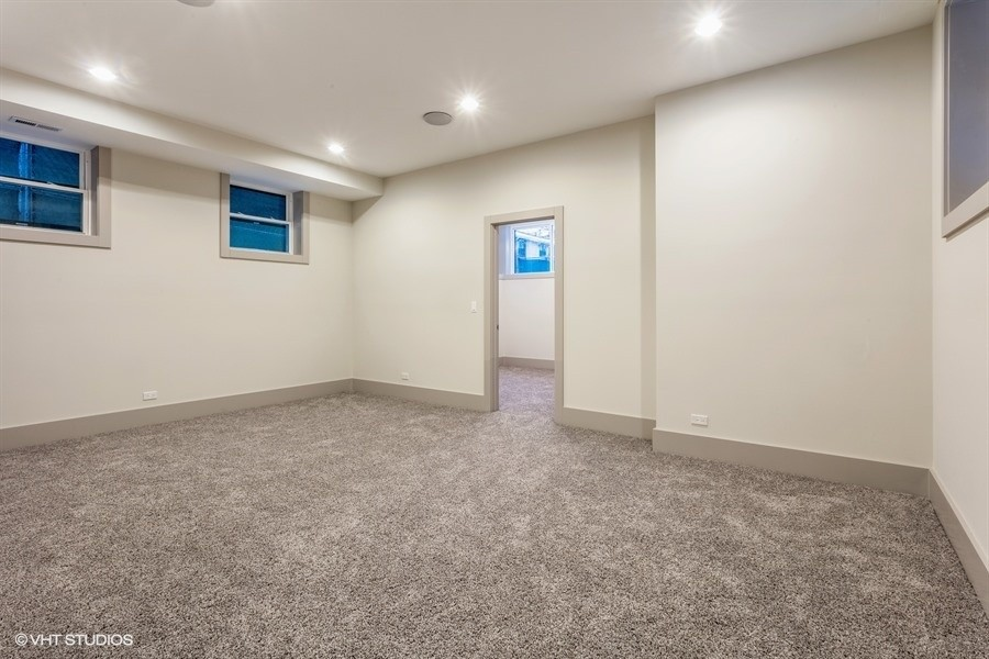 Real Estate Photography - 1213 E. 46th Street, 1, Chicago, IL, 60653 - Lower Level | Bedroom 3