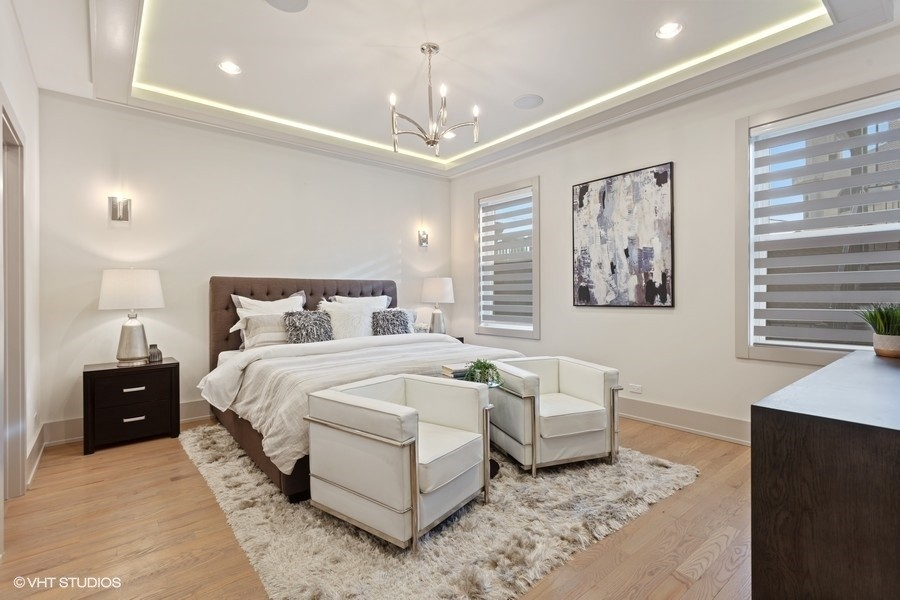 Real Estate Photography - 1213 E. 46th Street, 1, Chicago, IL, 60653 - Master Bedroom