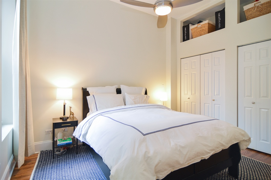 Real Estate Photography - 454 Armitage, 3, Chicago, IL, 60614 - Master Bedroom
