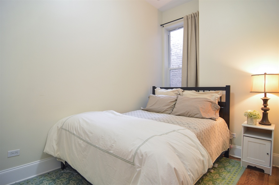Real Estate Photography - 454 Armitage, 3, Chicago, IL, 60614 - 2nd Bedroom