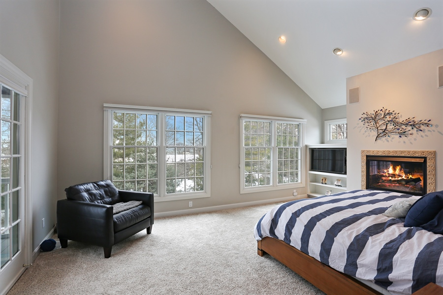 Real Estate Photography - 495 Ridgeway, St Joseph, MI, 49085 - Master Bedroom