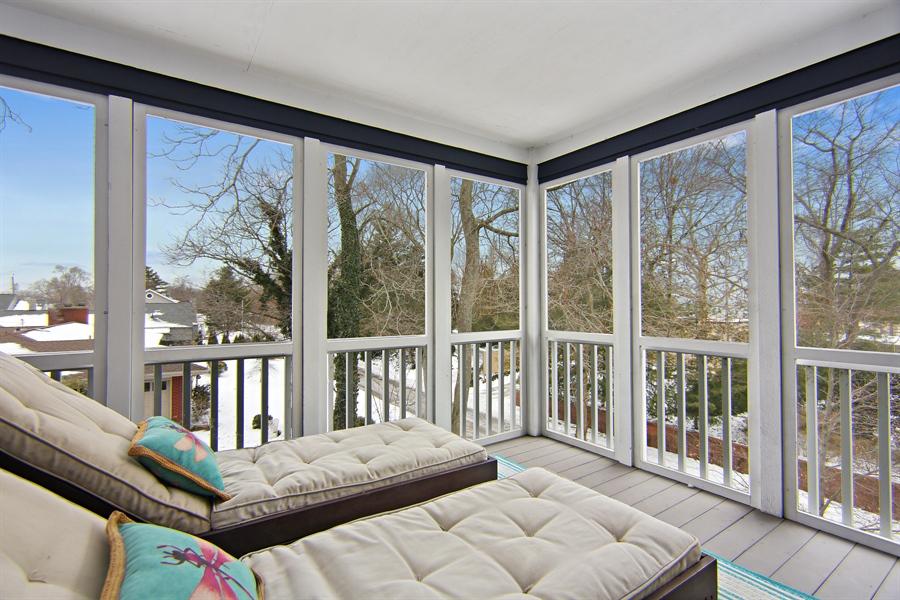 Real Estate Photography - 495 Ridgeway, St Joseph, MI, 49085 - Master Bedroom Screen Porch