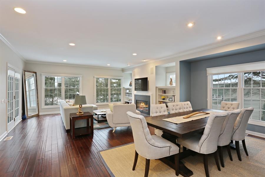 Real Estate Photography - 495 Ridgeway, St Joseph, MI, 49085 - Living Room / Dining Room