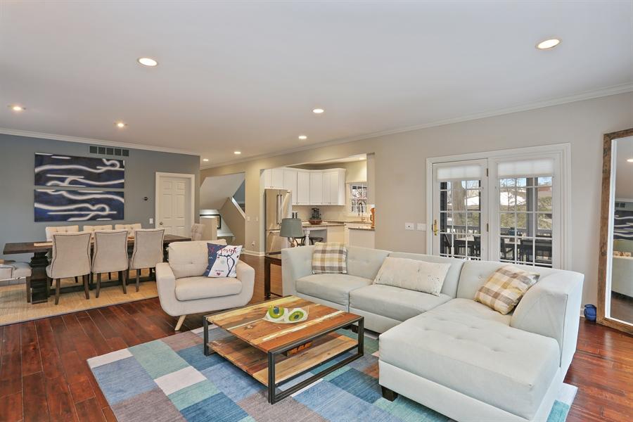 Real Estate Photography - 495 Ridgeway, St Joseph, MI, 49085 - Living Room/Dining Room