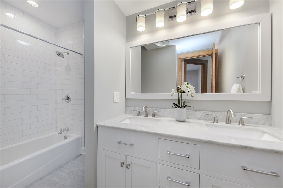 Real Estate Photography - 1421 Walnut Street, WESTERN SPRINGS, IL, 60558 - Bathroom