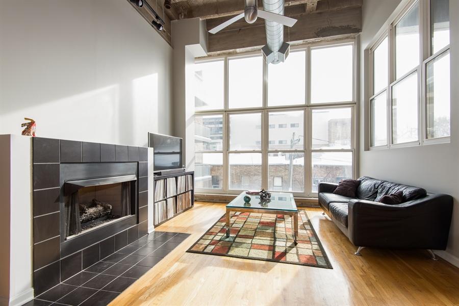 Real Estate Photography - 1834 Ridge, Evanston, IL, 60201 - Living Room