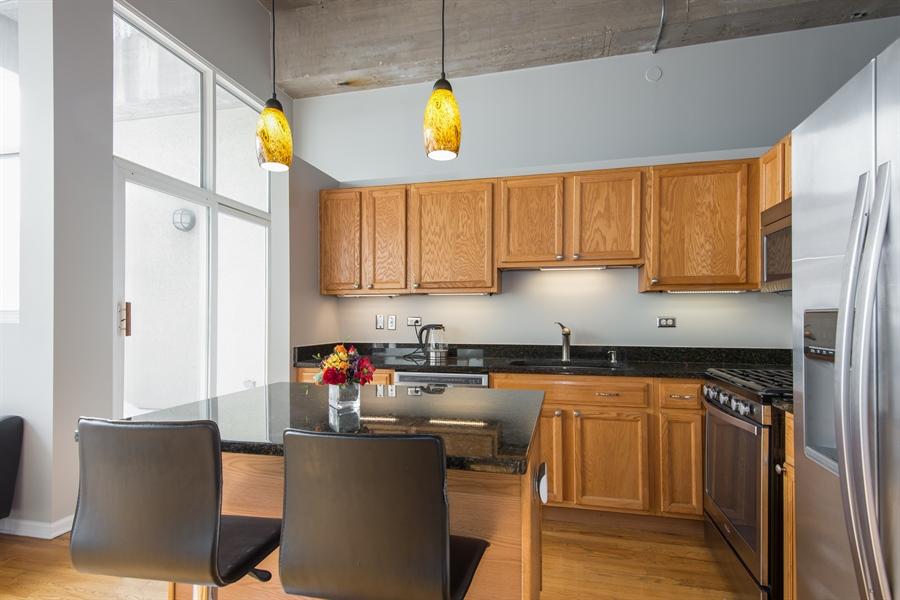 Real Estate Photography - 1834 Ridge, Evanston, IL, 60201 - Kitchen/Balcony