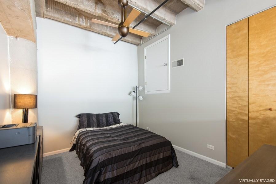 Real Estate Photography - 1834 Ridge, Evanston, IL, 60201 - Bedroom