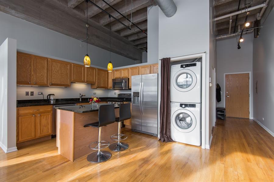 Real Estate Photography - 1834 Ridge, Evanston, IL, 60201 - Laundry