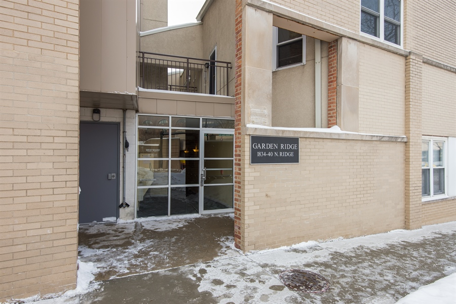 Real Estate Photography - 1834 Ridge, Evanston, IL, 60201 - Front View