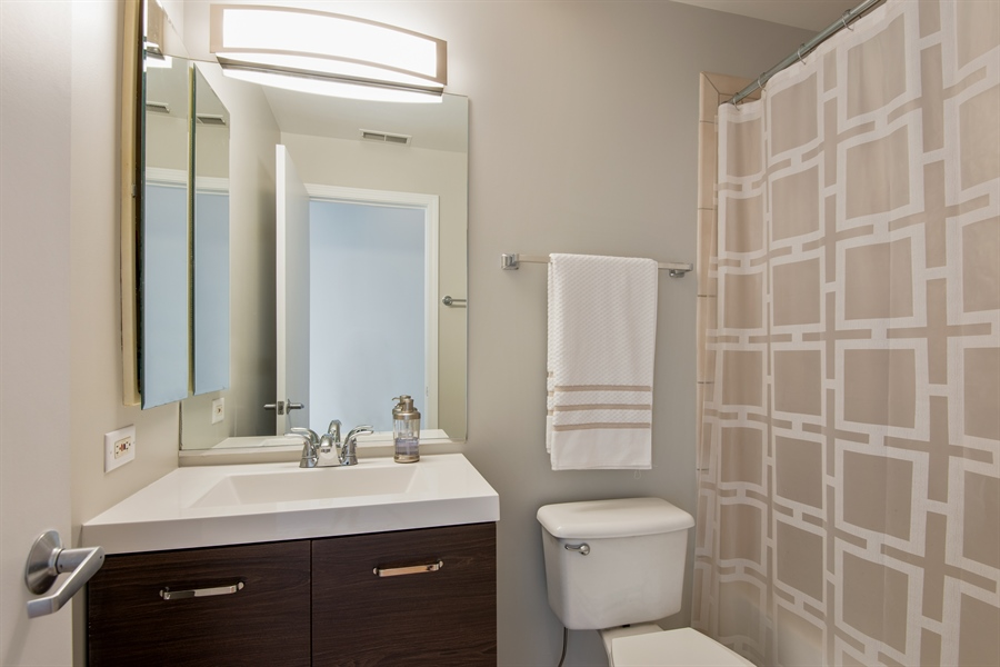 Real Estate Photography - 1834 Ridge, Evanston, IL, 60201 - Bathroom
