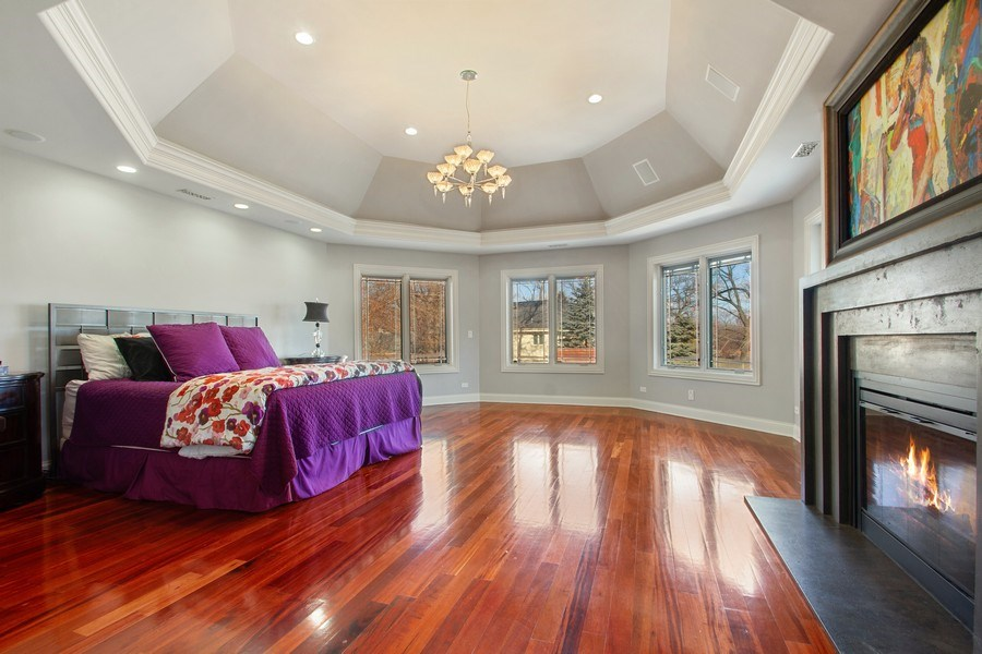 Real Estate Photography - 6455 N Sauganash Ave, Lincolnwood, IL, 60712 - 2nd Level Master Suite