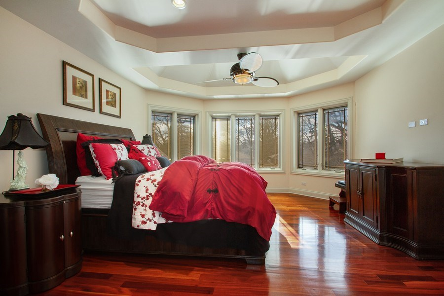 Real Estate Photography - 6455 N Sauganash Ave, Lincolnwood, IL, 60712 - 3rd Bedroom