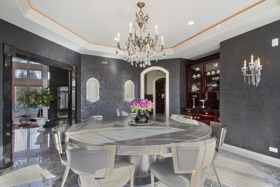 Real Estate Photography - 6455 N Sauganash Ave, Lincolnwood, IL, 60712 - Dining Room