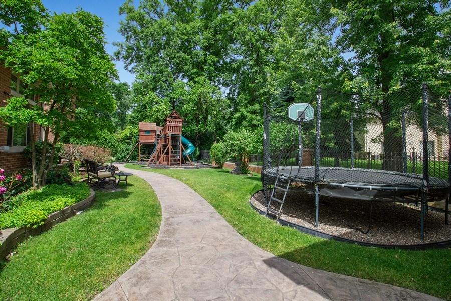Real Estate Photography - 6455 N Sauganash Ave, Lincolnwood, IL, 60712 - Back Yard