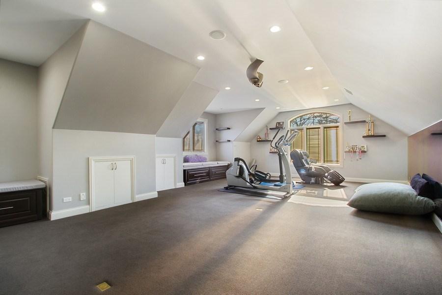 Real Estate Photography - 6455 N Sauganash Ave, Lincolnwood, IL, 60712 - 2nd Level Bonus Room